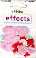 IMPEX SPECIAL EFFECTS - Embroidered CHICKS FX90